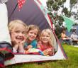 kids campervanning