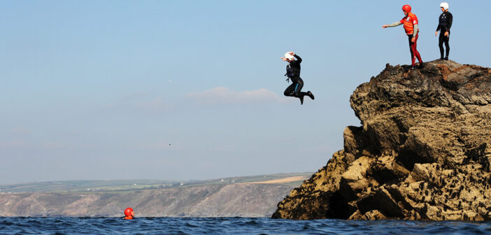 Go jump off a rock!