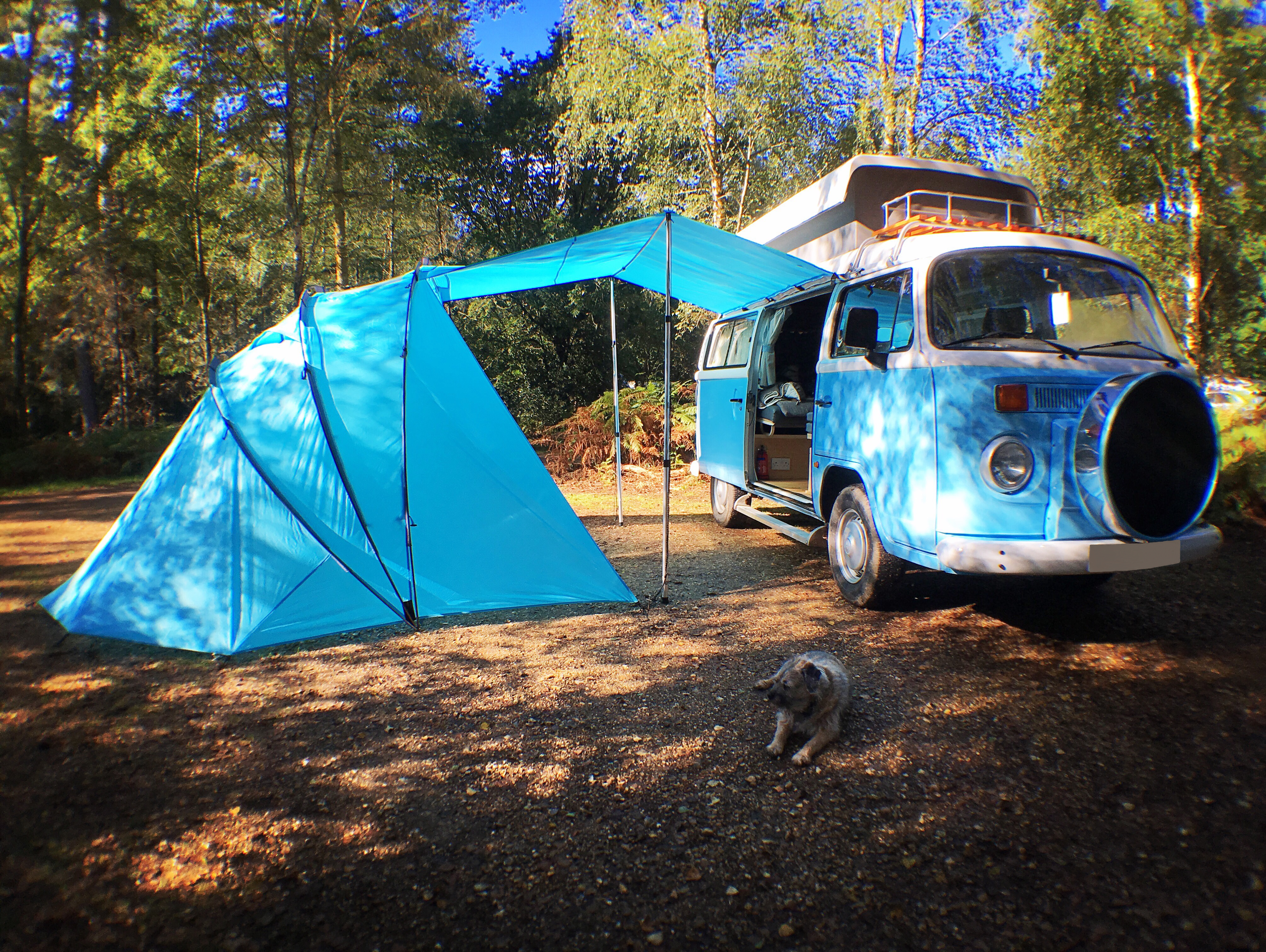 SheltaPod Campervan Awnings VW Camper Hire