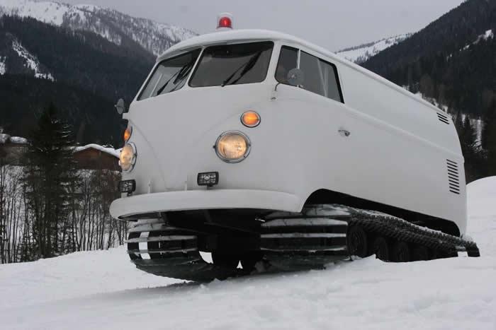 Vw Campervans In The Snow Vw Camper Hire Blog