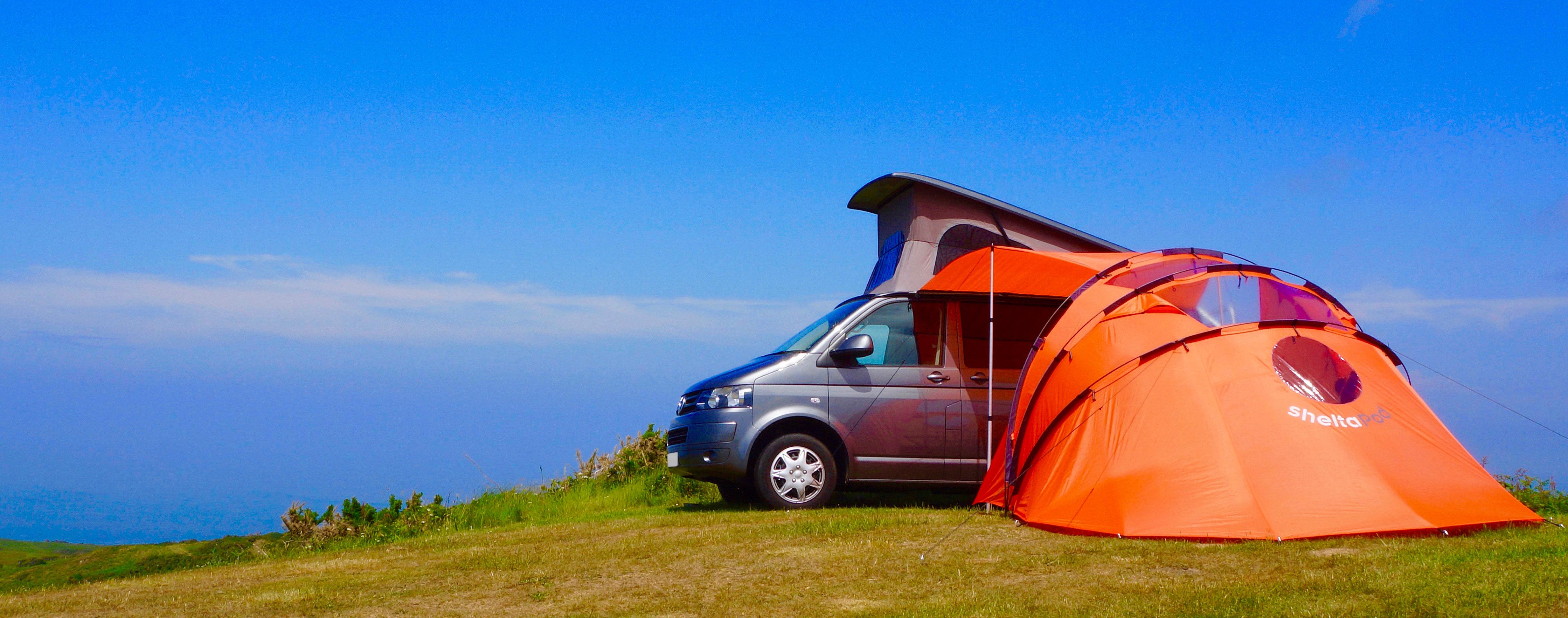 Sheltapod Campervan Awnings Amp Vw Camper Hire